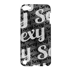 Sexy Text Typographic Pattern Apple Ipod Touch 5 Hardshell Case by dflcprints