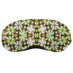 Neo Noveau Style Floral Print Sleeping Mask by dflcprints
