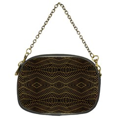 Futuristic Geometric Design Chain Purse (one Side) by dflcprints