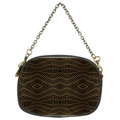 Futuristic Geometric Design Chain Purse (two Sided)  by dflcprints