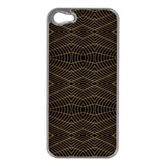 Futuristic Geometric Design Apple Iphone 5 Case (silver) by dflcprints