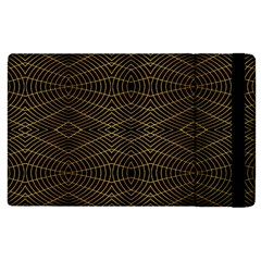 Futuristic Geometric Design Apple Ipad 2 Flip Case by dflcprints