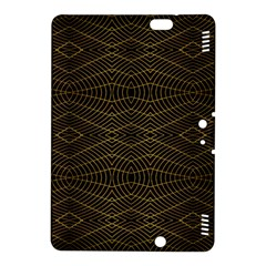Futuristic Geometric Design Kindle Fire Hdx 8 9  Hardshell Case by dflcprints