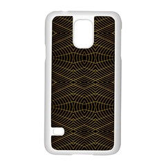 Futuristic Geometric Design Samsung Galaxy S5 Case (white) by dflcprints