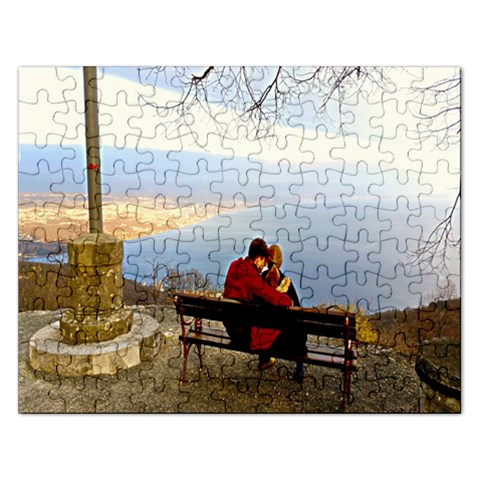 Puzzel By Pamela Sue Goforth   Jigsaw Puzzle (rectangular)   90wlf80dcumg   Www Artscow Com Front