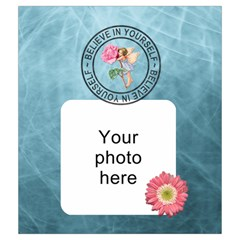 Believe In Yourself Medium Drawstring Pouch By Lil    Drawstring Pouch (medium)   Jn7zj6r5h6ml   Www Artscow Com Back
