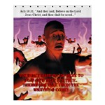 Hell Fire - Shower Curtain 60  x 72  (Medium)