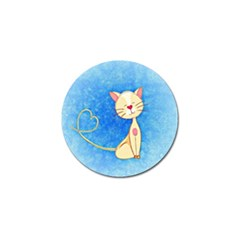 Cute Cat Golf Ball Marker by Colorfulart23