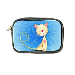 Cute Cat Coin Purse by Colorfulart23