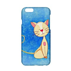 Cute Cat Apple Iphone 6 Hardshell Case by Colorfulart23