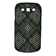 Geometric Futuristic Grunge Print Samsung Galaxy S Iii Classic Hardshell Case (pc+silicone)