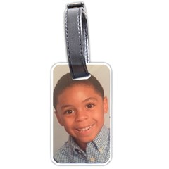 Seann Ingram Luggage By Beverly A  Terrell   Luggage Tag (two Sides)   Pbpvvg7d317u   Www Artscow Com Front