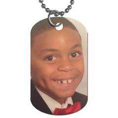 Seann Dog Tag By Beverly A  Terrell Front