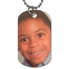 Seann Dog Tag By Beverly A  Terrell Back