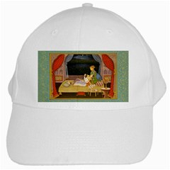 Romantic Nights  White Baseball Cap by Luxuryprints