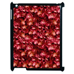 Warm Floral Collage Print Apple Ipad 2 Case (black) by dflcprints
