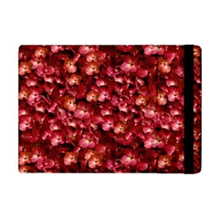 Warm Floral Collage Print Apple Ipad Mini Flip Case by dflcprints