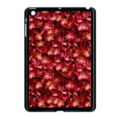 Warm Floral Collage Print Apple Ipad Mini Case (black) by dflcprints