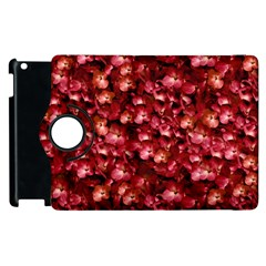 Warm Floral Collage Print Apple Ipad 3/4 Flip 360 Case by dflcprints