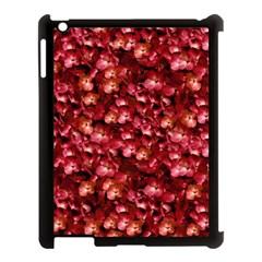 Warm Floral Collage Print Apple Ipad 3/4 Case (black) by dflcprints