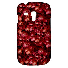 Warm Floral Collage Print Samsung Galaxy S3 Mini I8190 Hardshell Case by dflcprints