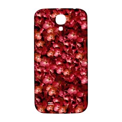 Warm Floral Collage Print Samsung Galaxy S4 I9500/i9505  Hardshell Back Case by dflcprints