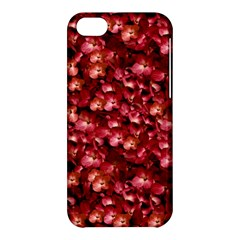 Warm Floral Collage Print Apple Iphone 5c Hardshell Case by dflcprints