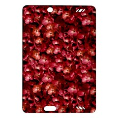 Warm Floral Collage Print Kindle Fire Hd (2013) Hardshell Case by dflcprints
