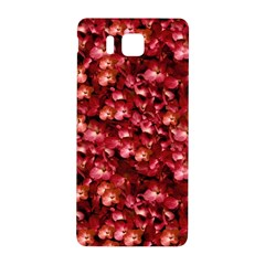 Warm Floral Collage Print Samsung Galaxy Alpha Hardshell Back Case by dflcprints