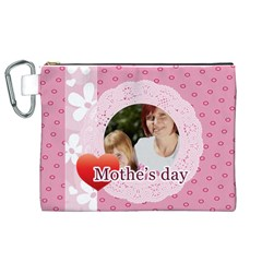 Mothers Day By Mom   Canvas Cosmetic Bag (xl)   Qcxjv47l7jz2   Www Artscow Com Front