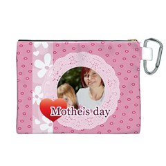 Mothers Day By Mom   Canvas Cosmetic Bag (xl)   Qcxjv47l7jz2   Www Artscow Com Back