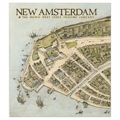 New Amsterdam Bag By Mason Weaver   Drawstring Pouch (medium)   85l27tcb124b   Www Artscow Com Front