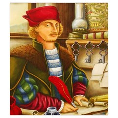 Hansa Tuetonica Bag By Mason Weaver   Drawstring Pouch (small)   Kn87zhb4npbo   Www Artscow Com Front