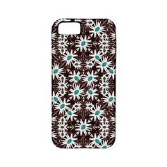 Modern Floral Geometric Pattern Apple Iphone 5 Classic Hardshell Case (pc+silicone) by dflcprints