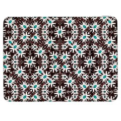 Modern Floral Geometric Pattern Samsung Galaxy Tab 7  P1000 Flip Case by dflcprints