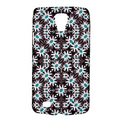 Modern Floral Geometric Pattern Samsung Galaxy S4 Active (i9295) Hardshell Case by dflcprints