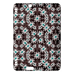 Modern Floral Geometric Pattern Kindle Fire Hdx Hardshell Case by dflcprints