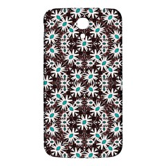 Modern Floral Geometric Pattern Samsung Galaxy Mega I9200 Hardshell Back Case by dflcprints