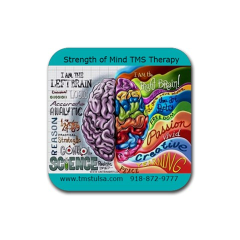 Tms Coaster  By Lauren    Rubber Square Coaster (4 Pack)   G4jicwwd0iyj   Www Artscow Com Front