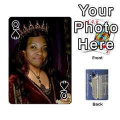 Queen Family Cruise Cards By Michelle s Cakes   Playing Cards 54 Designs   Uavzci7b7yy5   Www Artscow Com Front - SpadeQ