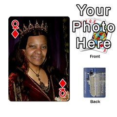 Queen Family Cruise Cards By Michelle s Cakes   Playing Cards 54 Designs   Uavzci7b7yy5   Www Artscow Com Front - DiamondQ