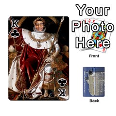 King Family Cruise Cards By Michelle s Cakes   Playing Cards 54 Designs   Uavzci7b7yy5   Www Artscow Com Front - ClubK