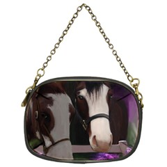 Two Horses Chain Purse (two Sided)  by JulianneOsoske