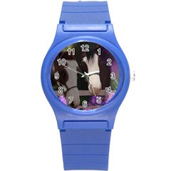 Two Horses Plastic Sport Watch (small) by JulianneOsoske