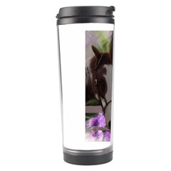 Two Horses Travel Tumbler by JulianneOsoske