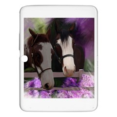 Two Horses Samsung Galaxy Tab 3 (10 1 ) P5200 Hardshell Case  by JulianneOsoske