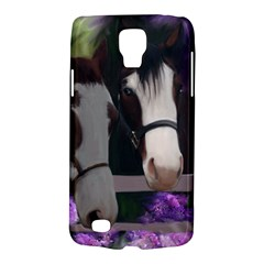 Two Horses Samsung Galaxy S4 Active (i9295) Hardshell Case by JulianneOsoske