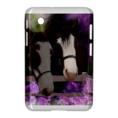 Two Horses Samsung Galaxy Tab 2 (7 ) P3100 Hardshell Case  by JulianneOsoske