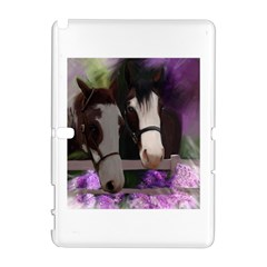 Two Horses Samsung Galaxy Note 10 1 (p600) Hardshell Case by JulianneOsoske