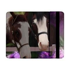 Two Horses Samsung Galaxy Tab Pro 8 4  Flip Case by JulianneOsoske